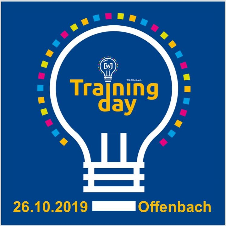 Training Day 26.10.2019 Save the Date 1